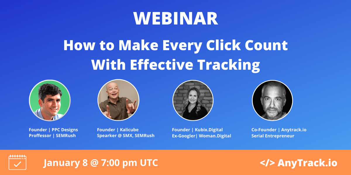 How to make every click count with effective tracking