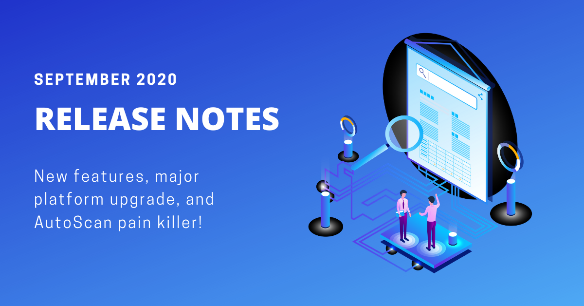 AnyTrack release notes september 2020