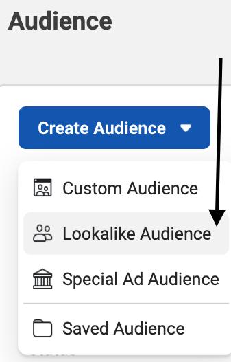 how to create lookalike audience for facebook retargeting ads