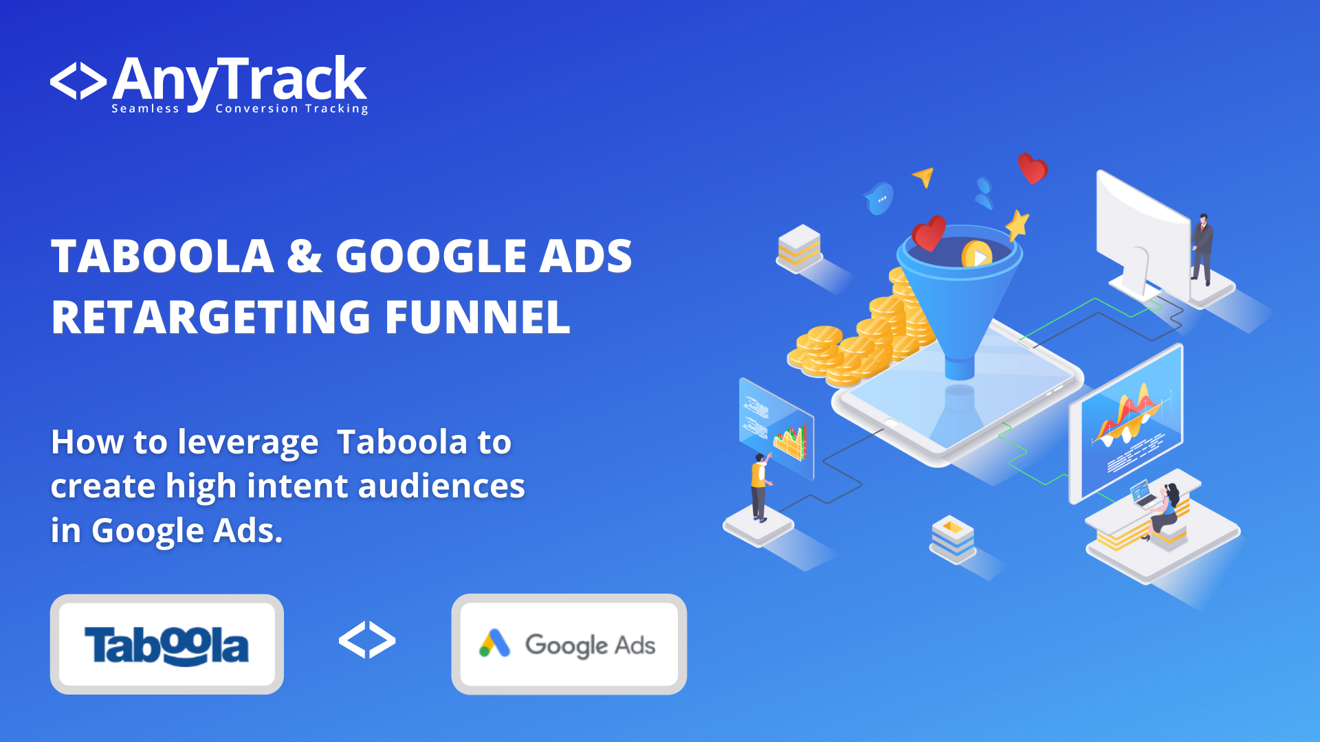 How to combine native ads with Google Ads retargeting campaigns.