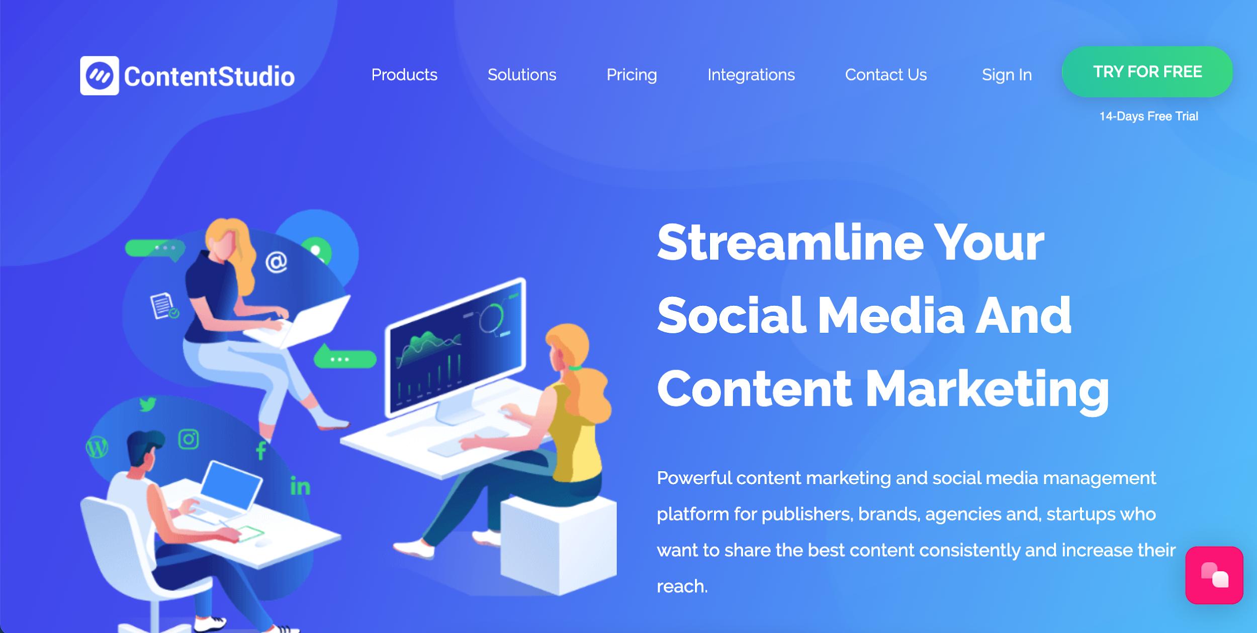 contentstudio essential affiliate marketing tool
