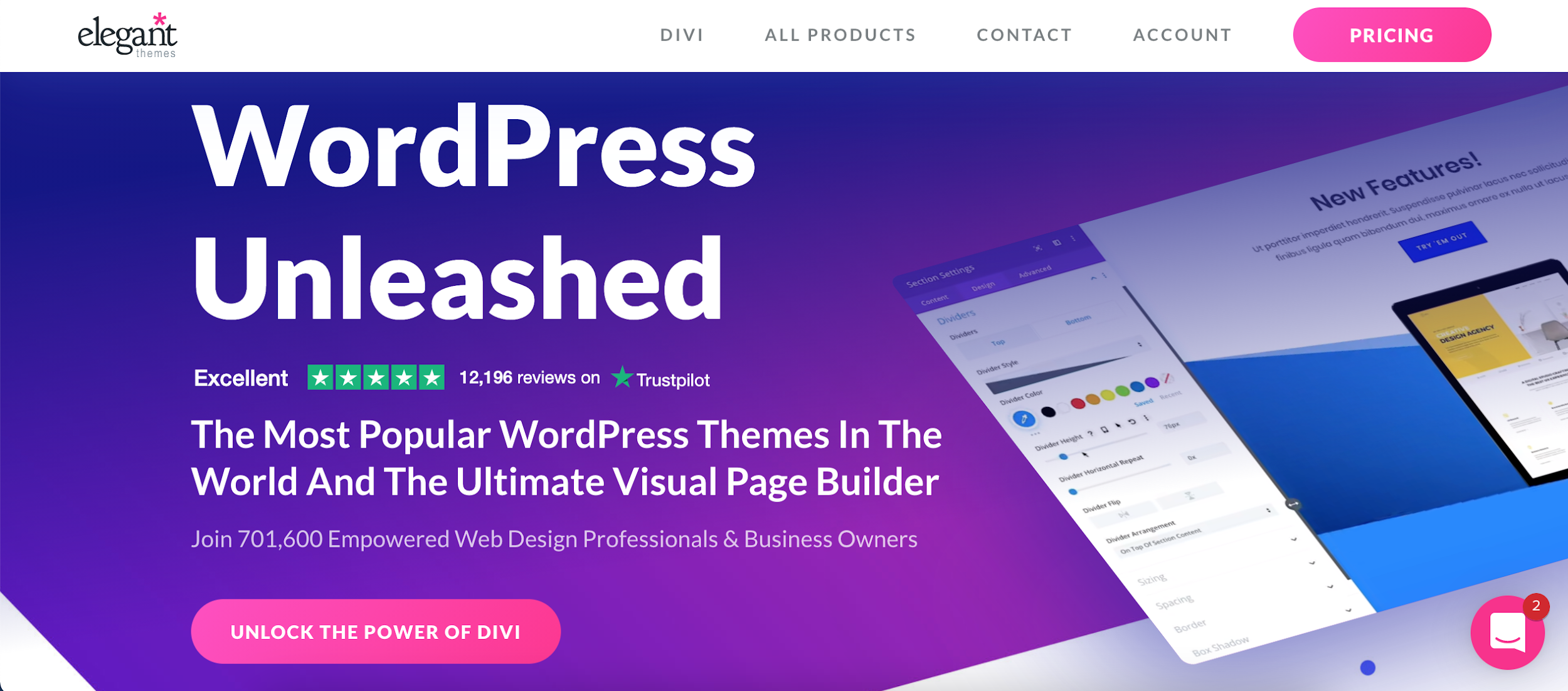 divi page builder essential affiliate marketing tool