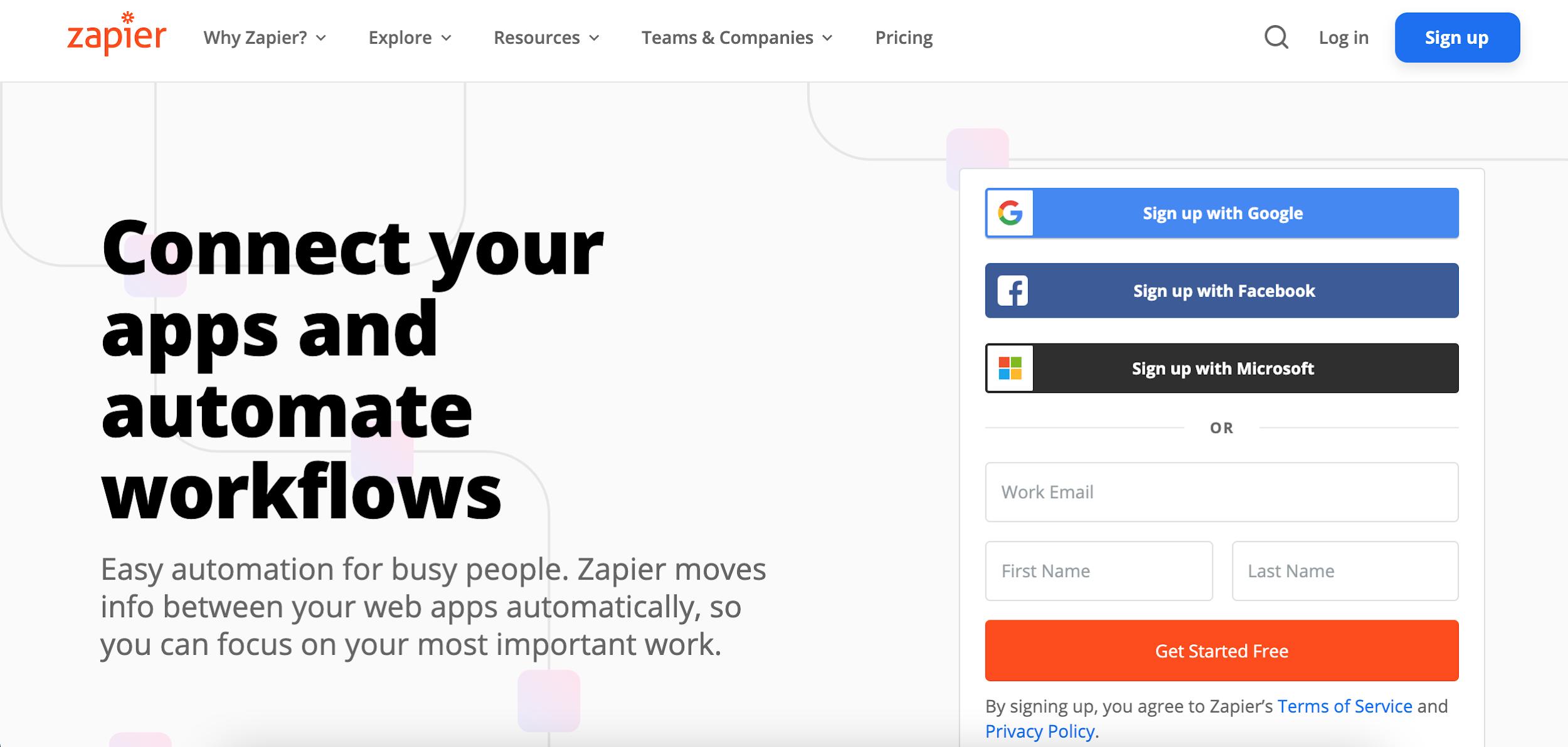 zapier essential affiliate marketing tool